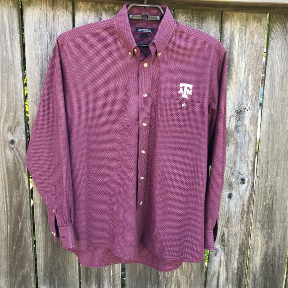 Antigua Other - Antigua Texas A&M Long Sleeve Shirt TAMU Aggies